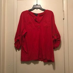 Women's Ralph Lauren 3/4 Sleeve Top